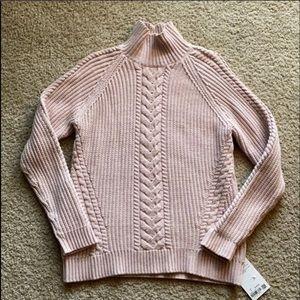 Lululemon Pink Turtleneck Sweater Sz 6